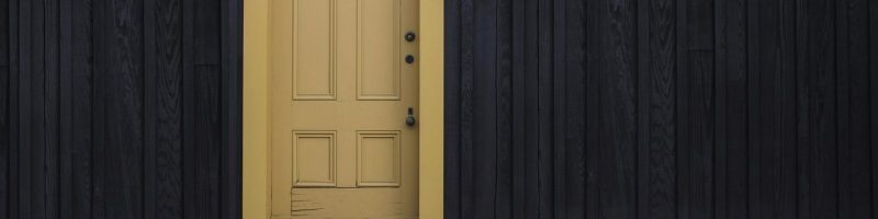 Yellow door - Why should we ask, seek, and knock? — Luke 11:1-13